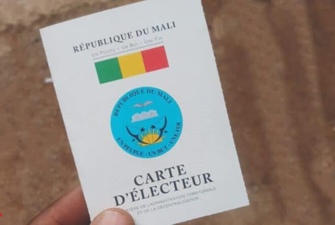 Élections au Mali : la nécessité de faciliter le processus de retrait des cartes d'électeurs