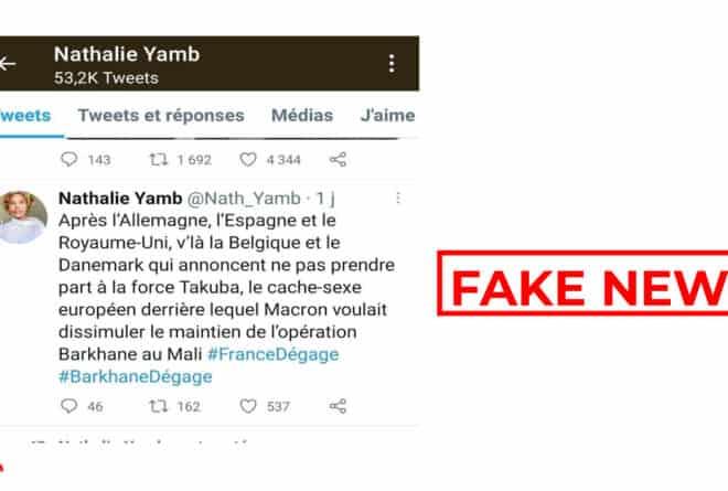 #BenbereVerif : la Belgique et le Danemark n'ont pas annoncé leur non-participation à la force « Takuba »