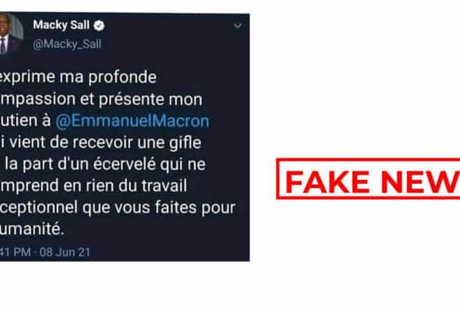 #BenbereVerif : attention à ces trois infox sur la gifle adressée au président Macron