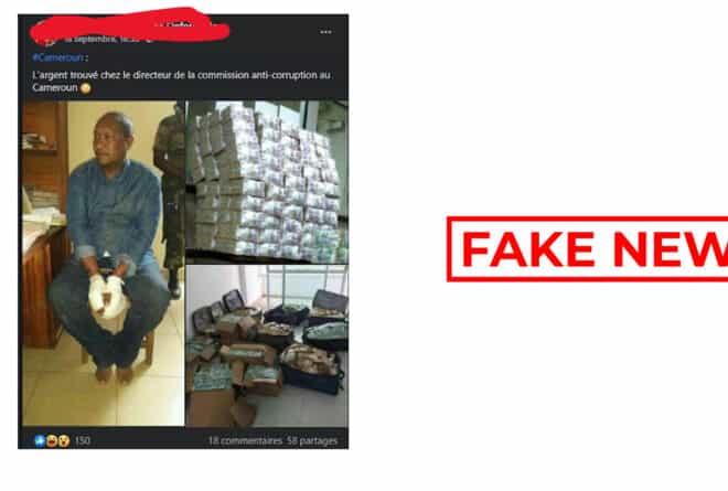 #BenbereVerif : ce n'est pas le directeur de la commission anticorruption du Cameroun