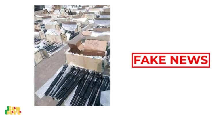 #BenbereVerif : ces armes n'ont pas été saisies au Burkina Faso